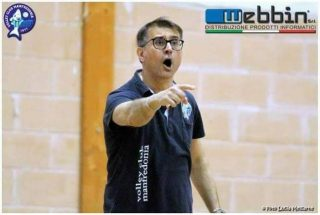Volley Club Manfredonia:confermato coach Rinaldi