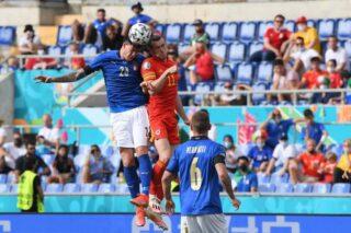 Italia prima nel girone A. Battuto anche il Galles 1-0. Mancini uguaglia Pozzo.