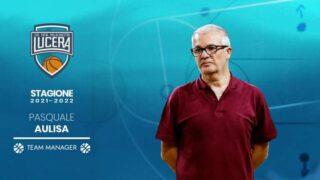 Pasquale Aulisa  sarà il team manager della SSD Sveva Pallacanestro Lucera.