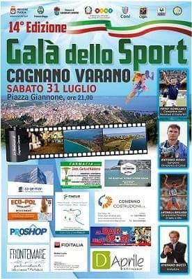 14°Galà dello Sport: premi per società ed atleti sipontini.